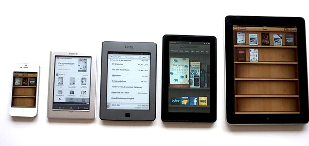 eBooks can now be read on a large variety of devices.