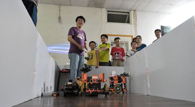 Roboracing at XinCheJian.