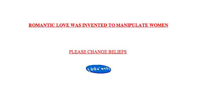 Please change beliefs, Jenny Holzer