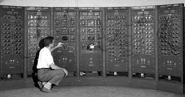#Machine controls the power