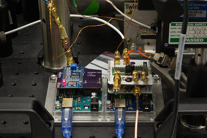 Optical Magnetometer. Institut de Ciències Fotòniques (ICFO). Fotos: Miquel Taverna